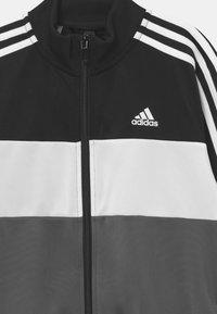 adidas Performance - TIBERIO SET - Trainingspak - black/white - 3