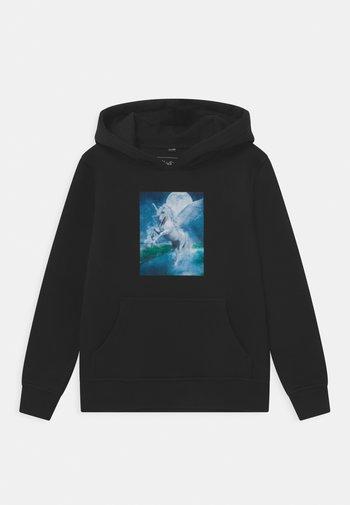 UNICORN MAGIC HOODY UNISEX - Sweatshirt - black