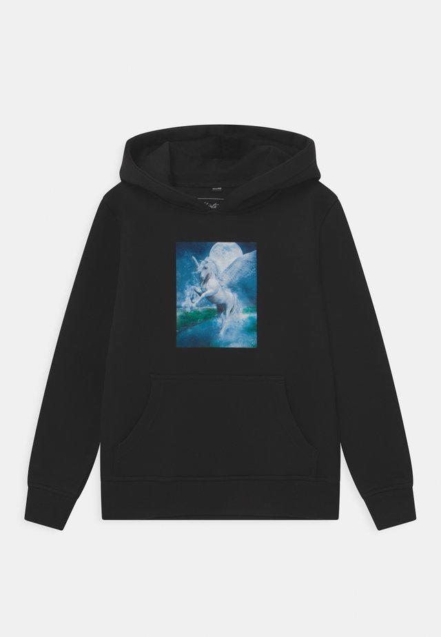 UNICORN MAGIC HOODY UNISEX - Mikina - black