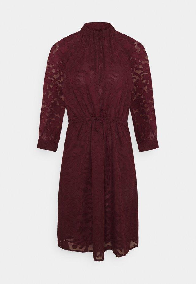 SLFREESE-DAMINA SHORT DRESS  - Korte jurk - winetasting