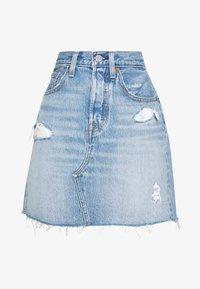 DECON ICONIC SKIRT - A-line skirt - light-blue Denim