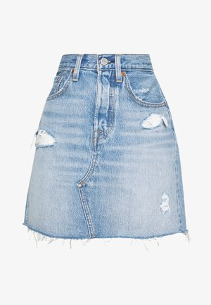 DECON ICONIC SKIRT - A-snit nederdel/ A-formede nederdele - light-blue Denim