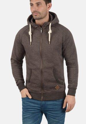 VITU - Zip-up sweatshirt - dark brown