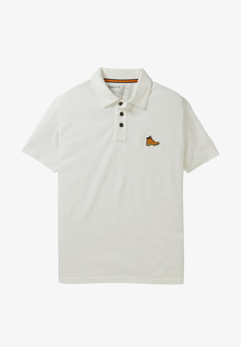 Timberland - BOOT LOGO - Polo shirt - picket fence