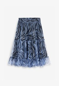 Next - Pleated skirt - blue - 5