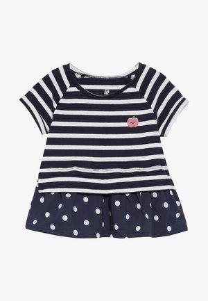 TODDLER GIRL - Print T-shirt - navy stripe