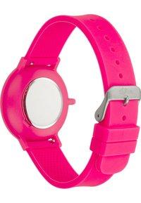 s.Oliver - S.OLIVER UNISEX-UHREN ANALOG QUARZ - Watch - pink - 3