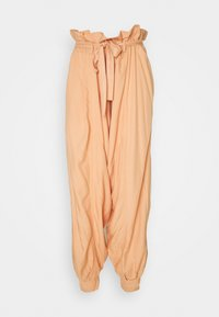 WADE AWAY HAREM - Pantalones - med orange