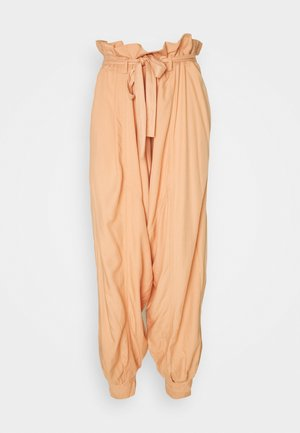 WADE AWAY HAREM - Trousers - med orange