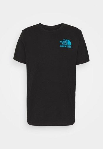 FOUNDATION GRAPHIC TEE - Print T-shirt - black