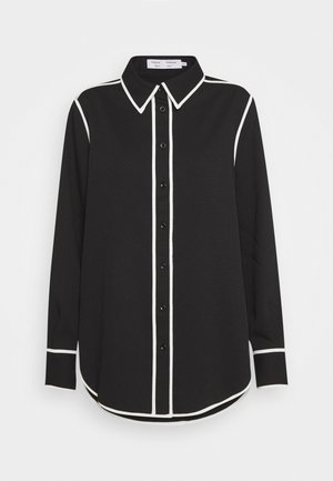 RUMPLED PAJAMA - Blouse - black