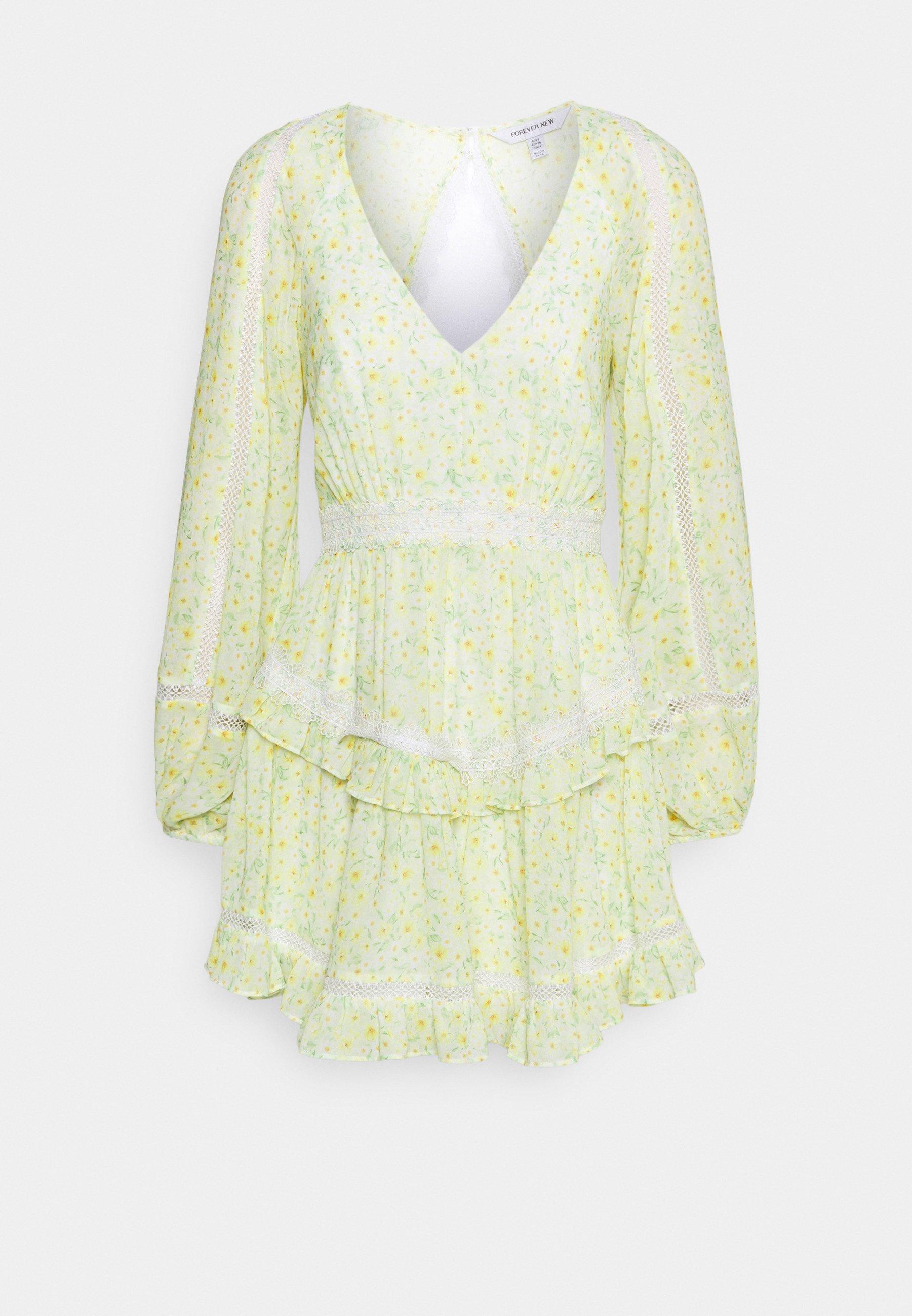 Women JANE SPLICE MINI DRESS - Day dress