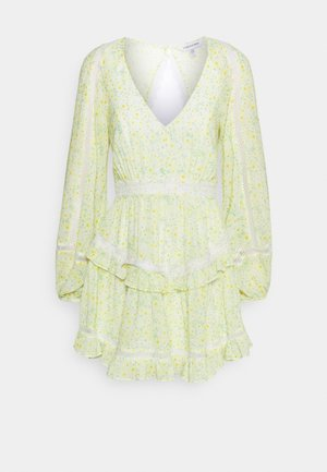 JANE SPLICE MINI DRESS - Day dress - sweet mint ditsy