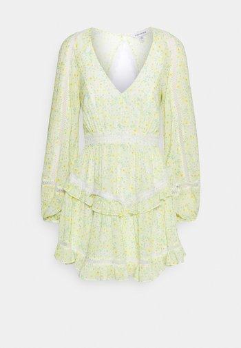 JANE SPLICE MINI DRESS - Robe d'été - sweet mint ditsy