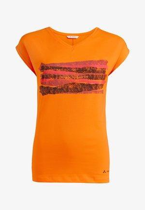 Print T-shirt - mango