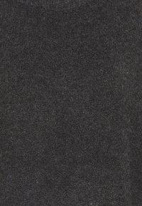 Vila - VIHANNA ROLLNECK - Jumper - dark grey melange - 2