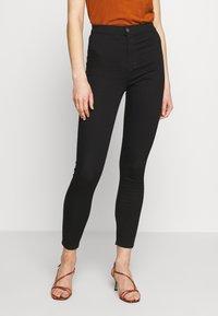 Topshop - PURE JONI - Jeans Skinny Fit - black - 0