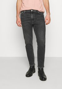 Tommy Jeans - DAD STRAIGHT - Jeans straight leg - barton black - 0