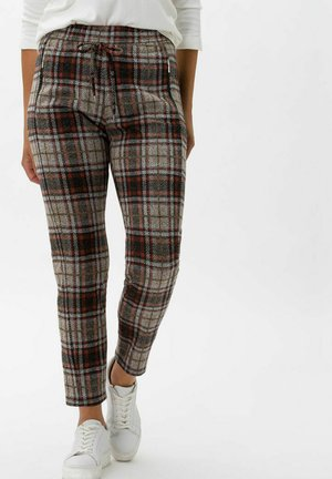 STYLE PEGGY - Trousers - terracotta