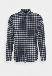 JOHAN BRUSHED CHECK - Shirt - navy