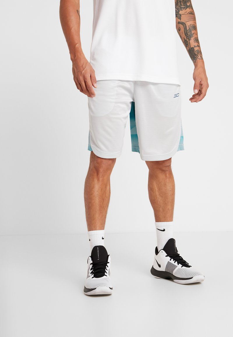 Under Armour - Sports shorts - halo gray/teal vibe
