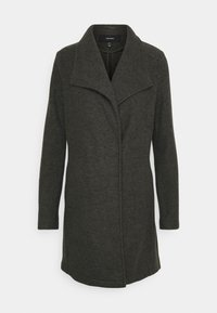 VMBRUSHEDDORA JACKET - Classic coat - peat melange