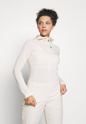 SVALBARD HOOD - Long sleeved top - ecru
