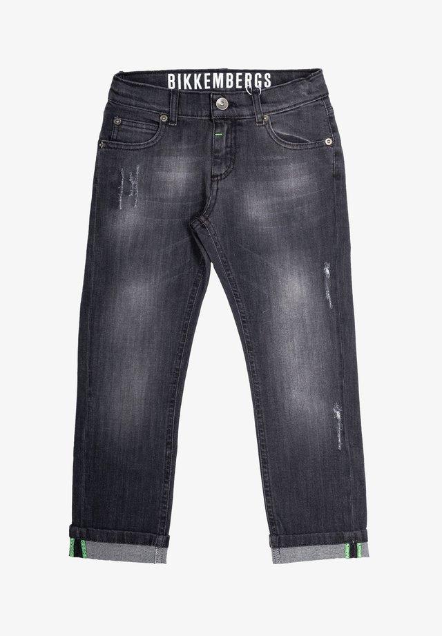 Jeans a sigaretta - grigio