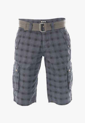 RIVANTON - Shorts - washed indigo blue black