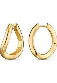 JETTE - Earrings - gelbgold - 1