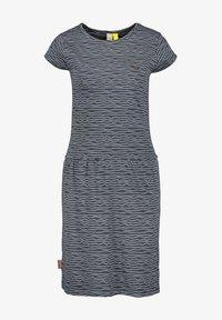 alife & kickin - SHANNAAK - Jersey dress - marine - 5
