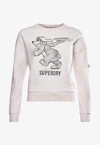 Superdry - MILITARY NARRATIVE - Sweatshirt - nordic bone - 3