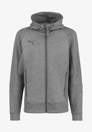 TEAMCUP CASUALS - Zip-up sweatshirt - medium gray heather