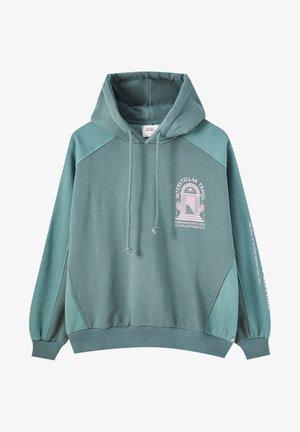 Bluza z kapturem - dark green
