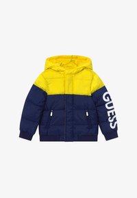 Guess - TODDLER HOODED PADDED JACKET - Winter jacket - bluish - 2