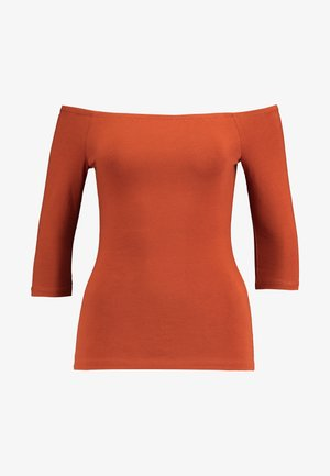 BASIC - Long sleeved top - rusty