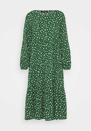 Day dress - green/white