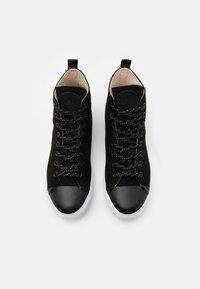 McQ Alexander McQueen - ORBYT MID UNISEX - Baskets montantes - black - 3