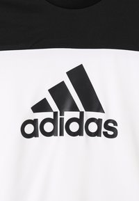 adidas Performance - TEE - T-Shirt print - white/black - 2