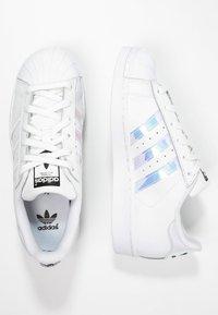 adidas Originals - SUPERSTAR - Sneakers - white/metallic silver - 1