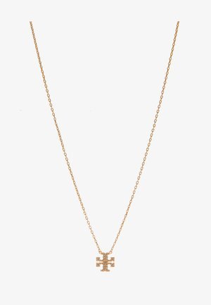KIRA PAVE DELICATE NECKLACE - Necklace - gold-coloured