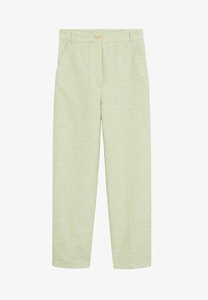 PORTO-I - Trousers - pastellgrün