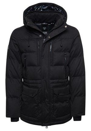 MICROFIBRE EXPEDITION - Winter coat - black