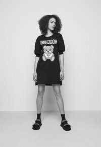MOSCHINO - DRESS - Jersey dress - black - 3