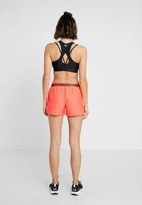 Under Armour - PLAY UP 2.0 - Pantaloncini sportivi - peach plasma/black - 2