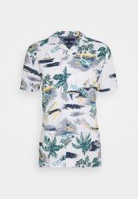 Tommy Hilfiger - HAWAIIAN PRINT - Shirt - white/pearl blue/multi - 4