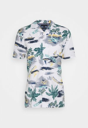 HAWAIIAN PRINT - Shirt - white/pearl blue/multi