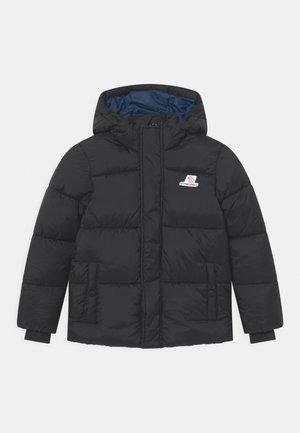 TIAN SET - Winter jacket - deep black