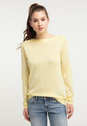 Svetr - mellow yellow