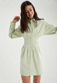 DeFacto - Shirt dress - turquoise - 3